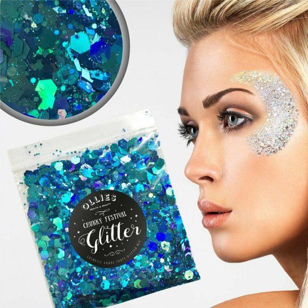 mermaid glitter